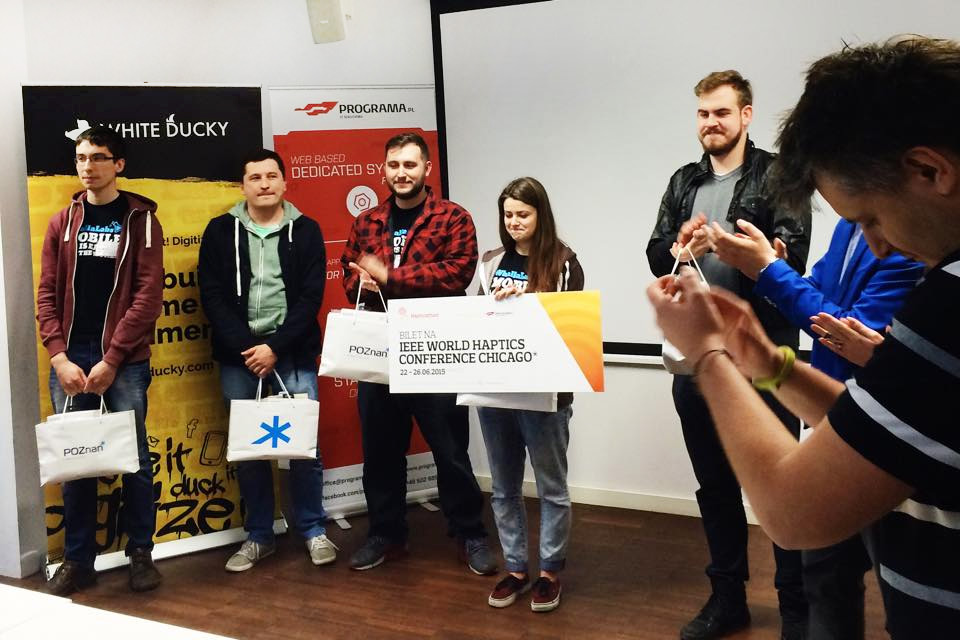 Hapticathon - The Winning Team - White Ducky - Programa.pl